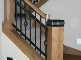 Ornimental Iron Railing