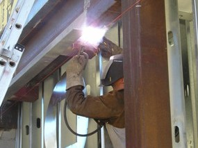 Structural Steel Welding
