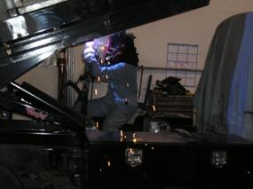 Welding Dump Truck Body