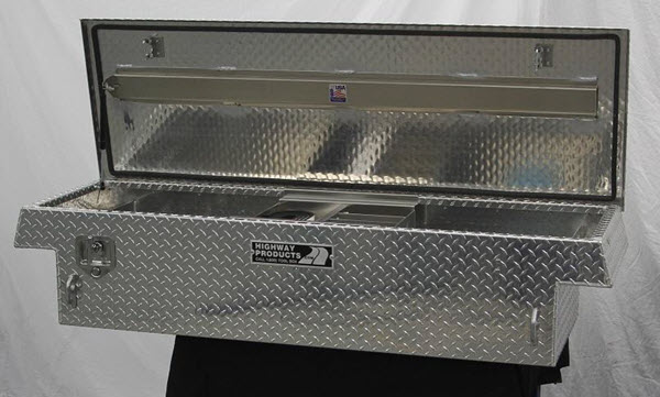 Highway Products Truck Tool Boxes & Truck Tool Boxes - Aluminum Steel and Diamond Plate