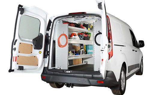 d8e49edd69 Ranger Design exclusively builds customized van shelving