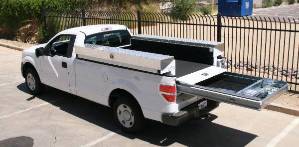 Used Utility Truck Beds For White Bed